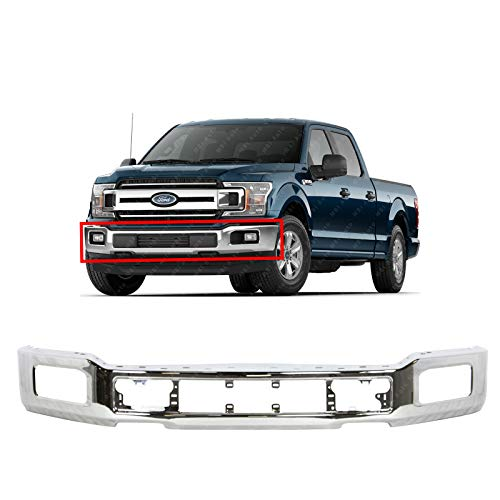 BUMPERS THAT DELIVER - Chrome, Steel Front Bumper Face Bar for 2018-2020 Ford...