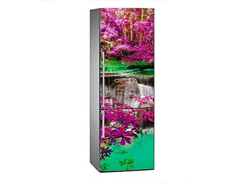 Oedim – Vinile per Frigorifero, con Cascata, da 185 x 70 cm | Adesivo Resistente ed Economico | Adesivo Decorativo dal Design Elegante, Personalizzabile