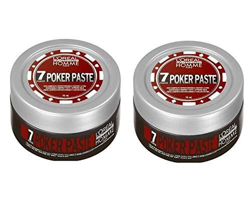 L'Oréal Homme Poker Paste Lot de 2 x 75 ml
