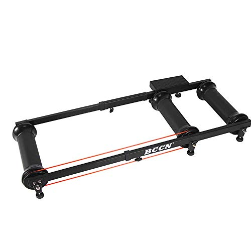 ZXYY Magnetic Bicycle Stand Bicycle Stand Extensible Silent Roller Guide Platform Indoor Exercise Platform for Road and Mountain Bikes