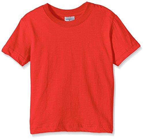 Stedman Apparel Classic-T/ST2200 Camiseta, Rojo Escarlata, M para Niños