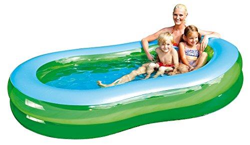 Happy People 77784 - Jumbo Pool, 233 x 132 x 37 cm, transparent