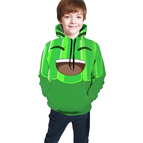 KSAE202 Kid's `1 Jelly YT- YouTube Hoodie Sweatshirts Fitness Pullover