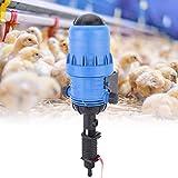 Caredy Dispensador de inyector de Fertilizante, 0.4% -4% Ganadería Agricultura Dispensador de inyector de Fertilizante químico Proporcionador Aspersor de Bomba dosificadora