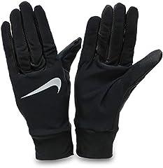 NIKE Women Premium Fitness Gloves Guantes, Mujer, Negro (Black/White), L