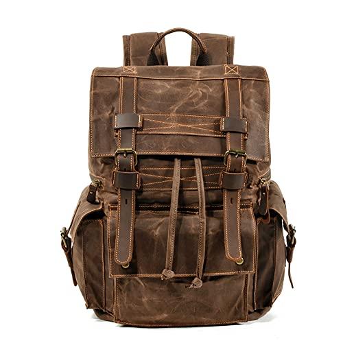 Mochila plegable lona impermeable al aire libre,mochilas escolares,bolsa computadora portátil,mochila deportiva moda para montañismo,mochilas senderismo para hombres mujeres acampar,39 * 10 * 45 cm
