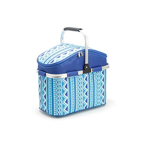 picnic time ice bags 26L Picnic Basket Camping Refrigerator Bag Beer Ice Cooler Thermo Tourism Equipment Outdoor Beach Recreation