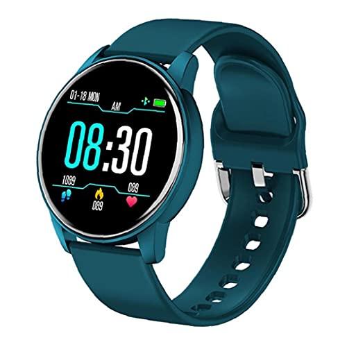 Smart Watch-Touchscreen-Fitness-Aktivitäts-Schrittzähler dynamischer Herzfrequenzarmband Blau