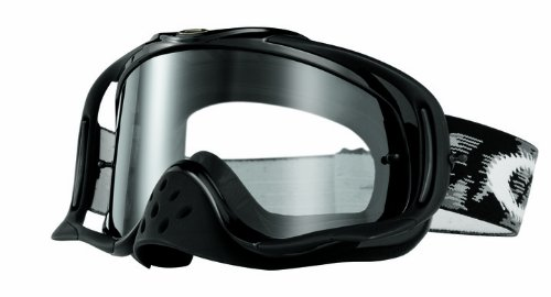 Oakley Herren Mx Goggle CROWBAR Sonnenbrille, Jet Black Speed w/Clear, UNI