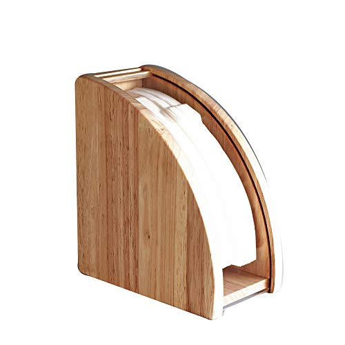 Holzfilterpapier-Aufbewahrungsbox Konischer Flabellate Holz-Kaffee-Filterpapierhalter