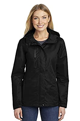 Port Authority Women's All-Conditions Jacket L331 Black Large by Port Authority