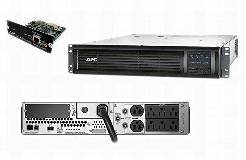 APC SMT2200R2X180 Smart-UPS 2200VA 1980W 120V 2U Power Battery Backup...