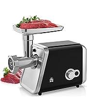 ForMe Elektrische Vleesmolen 2000W, Vleesmachine met 3 Snijschijven Multikeukenmachine, Worstopzetstuk, Vleesopdringer, Voedselmachine