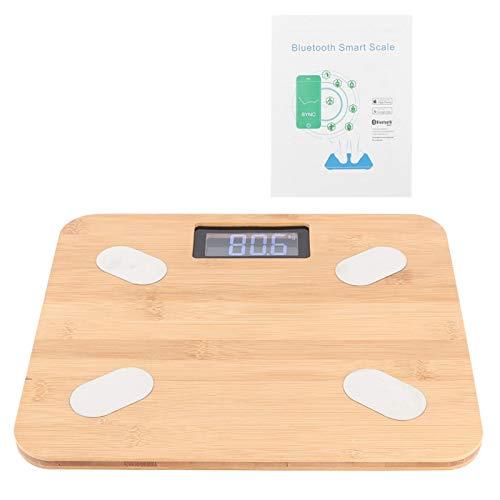 Omabeta Báscula de Grasa Corporal Báscula de Peso Pantalla LED de Alta definición respetuosa con el Medio Ambiente Familia de básculas Digitales o Uso como báscula para el Cuerpo Humano en casa