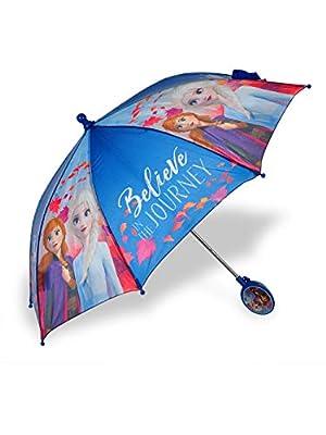 Disney Frozen II Believe in the Journey Umbrella - blue/multi, one size