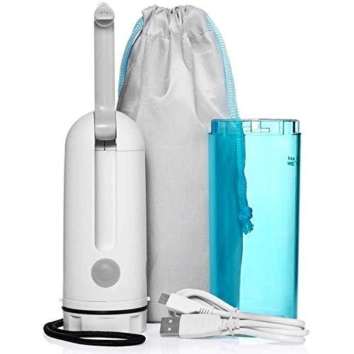 WLKQ 230 ml Bidet-Sprüher, Tragbare Bidet, Reise Bidet, tragbar, elektrisch, Reinigungswerkzeug für Intimpartien für Damen für Reisen mit USB-Kabel