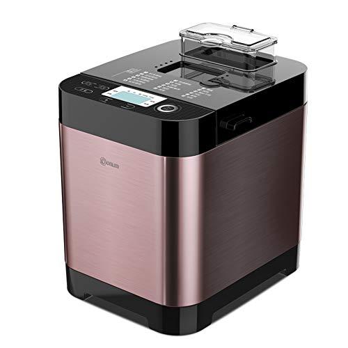 Automatische programmeerbare broodbakmachine, broodmachine met 18 programma's, automatische gistfruit notendispenser, glutenvrije instelling