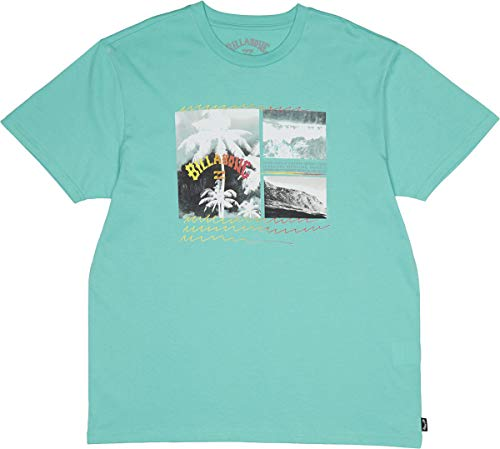 BILLABONG T-Shirt Crash Tee SS Light Aqua XL