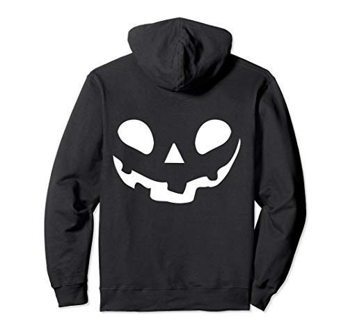 Smiley Face Kürbis Jack O Laterne Pullover Hoodie