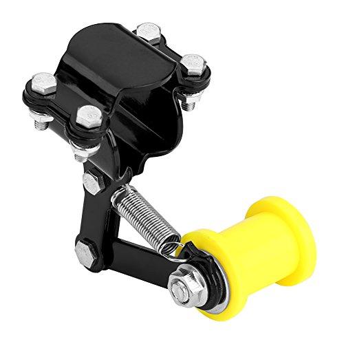 Qiilu Universale Catena Modificata sul Rullo Motocicletta Accessori Modificati Attrezzo (Black)