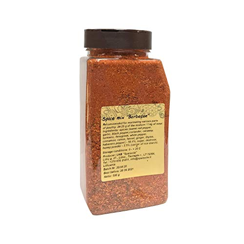 Spaisvile Spice Mix Barbecue BBQ for Grilling and Oven Baking, 500g