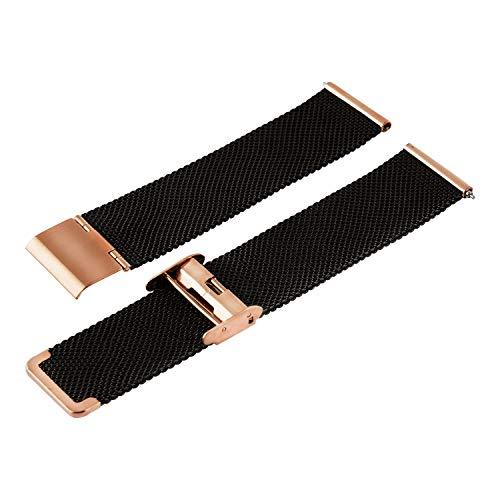 X-WATCH XLYNE Wechselarmband 22mm Black JOLI XW PRO 540301