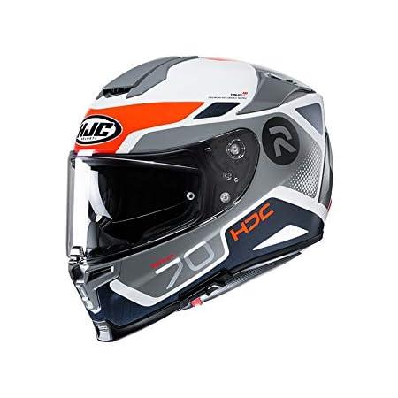 Hjc Helmets Motorradhelm Rpha 70 Vias Mc7sf Schwarz Orange Größe M 2432 25638 Auto