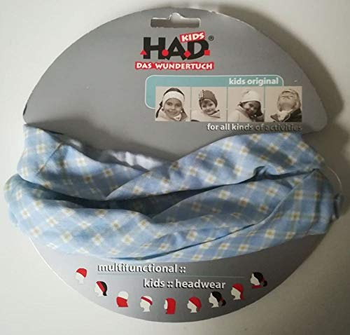 H.A.D. Kids Combs blue-beige Kinder Multi-Funktions-Tuch