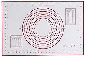 60x40CM Non-Stick Silicone Baking Mat Kneading Pad Sheet Glass Fiber Rolling Dough Large Size for Cake Macaron Kitchen Tools