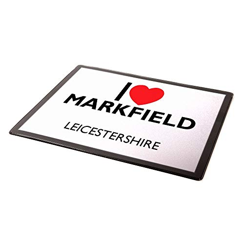 Tappetino per mouse - I Love Markfield - Leicestershire