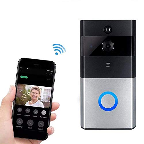 Best Price Home Wireless Remote Monitoring Real-Time Two-Way Talk Video Doorbell Remote Home Monitor...