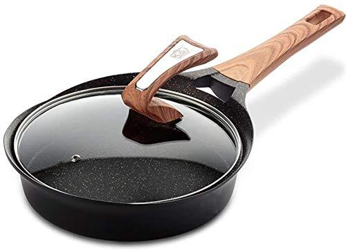 LQXZJ-Ollas Ee Cocina, Sartén Antiadherente Wok Sin Aceite, Olla Para El Hogar, No Se Oxida, Sartén, Cocina, Cocina De Inducción Frita, Estufa De Gas, Universal (Color : 24 Cm)