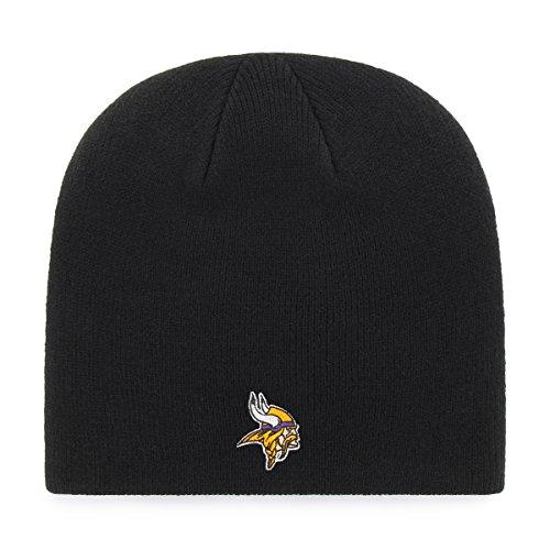 OTS NFL Minnesota Vikings Men's Beanie Knit Cap, Team Color, One Size