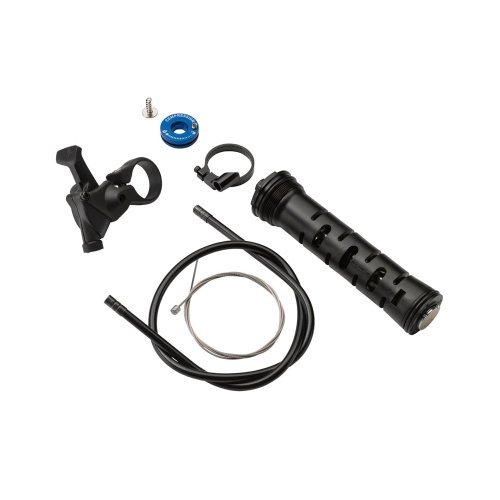 Rockshox Remote Upgrade Kit Recon Silver Turnkey, Includes Remote Compression Damper and Poploc Remote Right by Rockshox