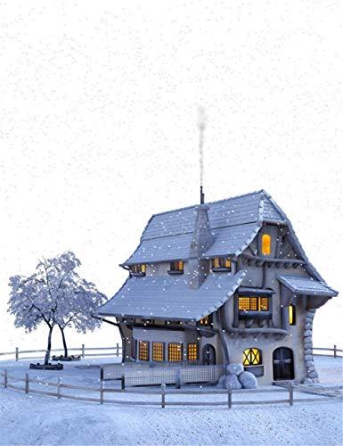 3D Puzzel Voor Volwassenen 35 Stukjes, Houten Gebouw Landschap Puzzel, Puzzelspel Voor Kinderen, Kerst Huisje, Houten Fotolijst