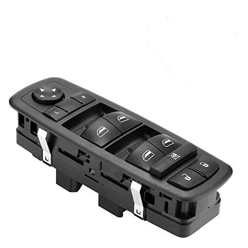 Driver Side Master Power Window Switch 4602535AC Compatible for 2008 2009 Chrysler Town & Country Dodge Grand Caravan 4602535AG 4602535AF 4602535AD- No Auto (0 PINs + 3 PINs) Checked Needed