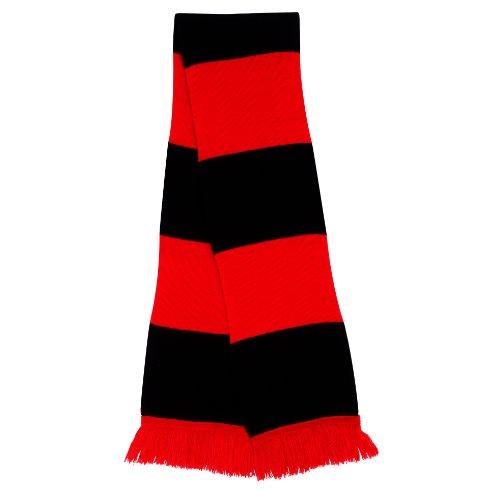 Result Écharpe de Supporter R146x Taille Unique Rouge/Noir