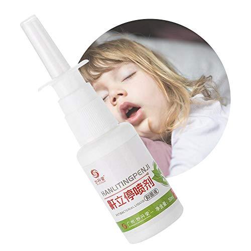 Soluzione russare Stopper 30 ml/bottiglia Spray anti russare portatile Stop Snare Spray nasali liquidi per dormire sano