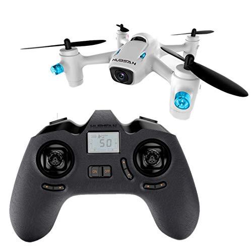 Piano di Controllo remoto. Chyozd Hubsan X4 Cam Inoltre H107C + 2.4GHz 4CH modalità altitudine RC Quadcopter con LED Light & 720P HD Camera (Bianco) (Color : White)