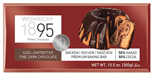 Weinrichs - Edel-Zartbitter-Schokolade - 300g
