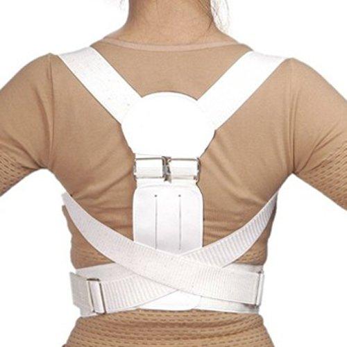 Rücken Stütze Geradehalter Gürtel Haltungskorrektur Schulter Band Magnetisch