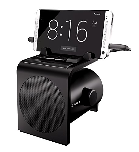 Hale Dreamer Alarm Clock Speaker Dock for Android Phones with SmartSilence