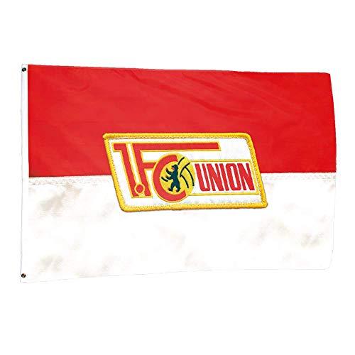 Flaggenfritze Hissflagge 1.FC Union Berlin - 150 x 250 cm + gratis Aufkleber