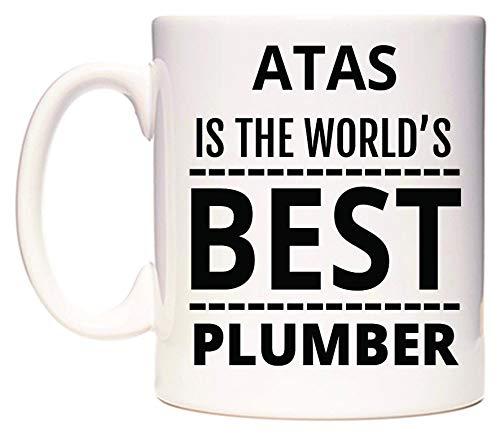 WeDoMugs ATAS is The World\'s Best Plumber Becher