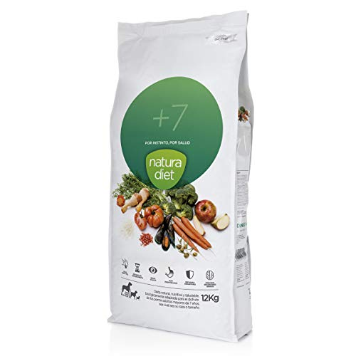 Natura diet +7 años 12 kg Alimento Natural seco.