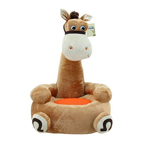 Sweety Toys  Kinder Sitzkissen braunes Pferd