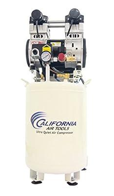 California Air Tools Ultra Quiet & Oil-Free 2 hp Steel Tank Air Compressor