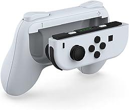 TwiHill Lidar com manga protetora para Nintendo Switch OLED, a alavanca da alavanca esquerda e direita, suporte de alça de...