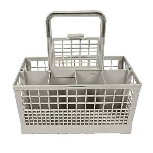 Timetided Caja de Almacenamiento para lavavajillas Port¨¢Til Cuadrada Universal Canasta de Cubiertos para lavavajillas