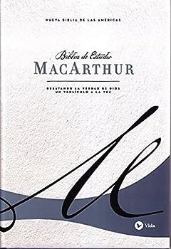 Biblia de Estudio MacArthur NBLA Azul  tapa dura